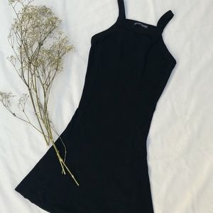 Brandy Melville Stretchy Black Tank Dress